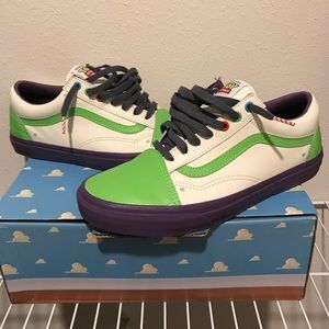 Buzz Lightyear Toy Story Vans sz 9.5